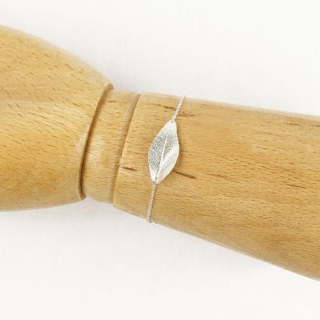 Muchi Galoosh Leaf Bracelet – Silver from Treasures & Trinkets - R350