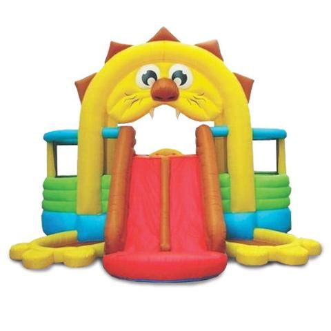 KidWise Lion's Den Bounce N' Slide - Inflatable Bounce House (SSD-LION-04R)