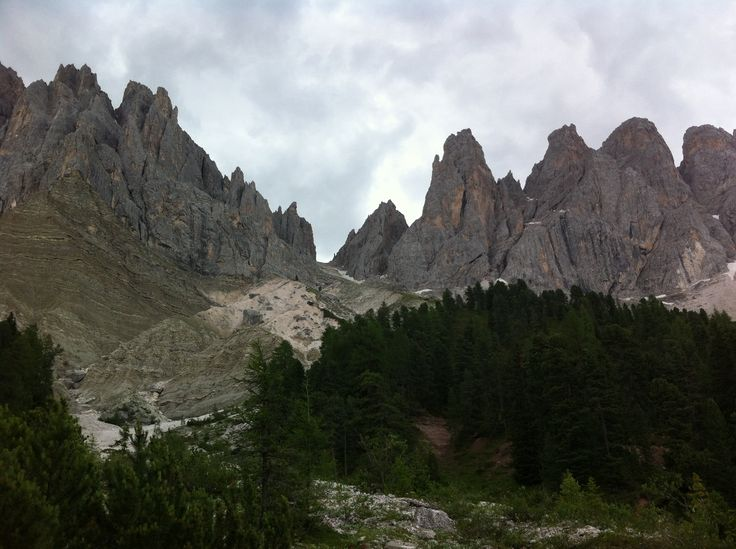 Dolomites - the Odle mountains