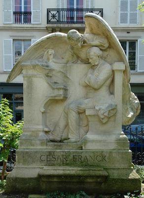 César Franck, square Samuel-Rousseau - Paris 7e