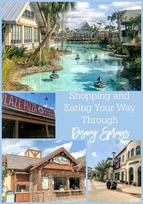 Shopping and eating your way through Disney Springs - new restaurants and shops at Disney Springs (formerly Downtown Disney) make for a fun break from the theme parks.