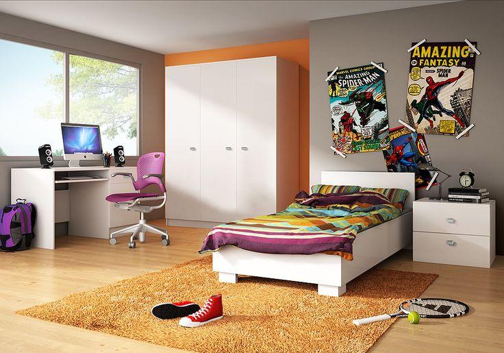 Domino II elemes ifjúsági bútorcsalád