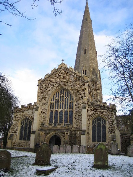 church my family was baptized in from 1300's-1600's  All Saint's Church Leighton Buzzard, England