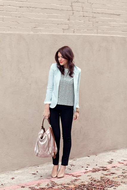 loving the clean look of this outfit via kendi everyday