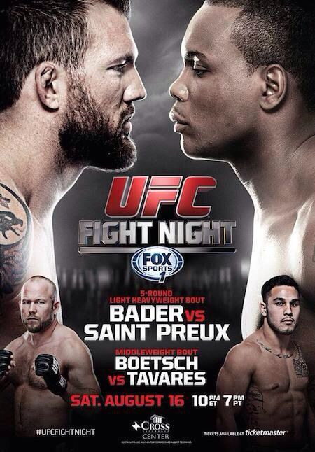UFC Fight Night 35 Preliminary Fights