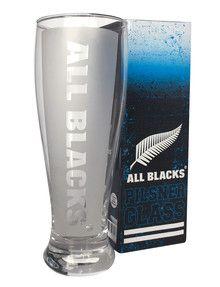 All Blacks Pilsner Glass product photo