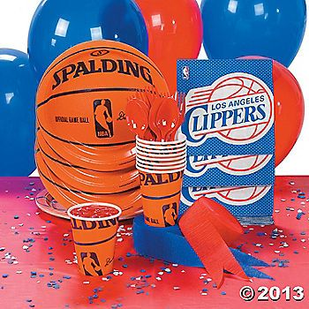NBA® L.A. Clippers™ Basic Party Pack $20 for 8