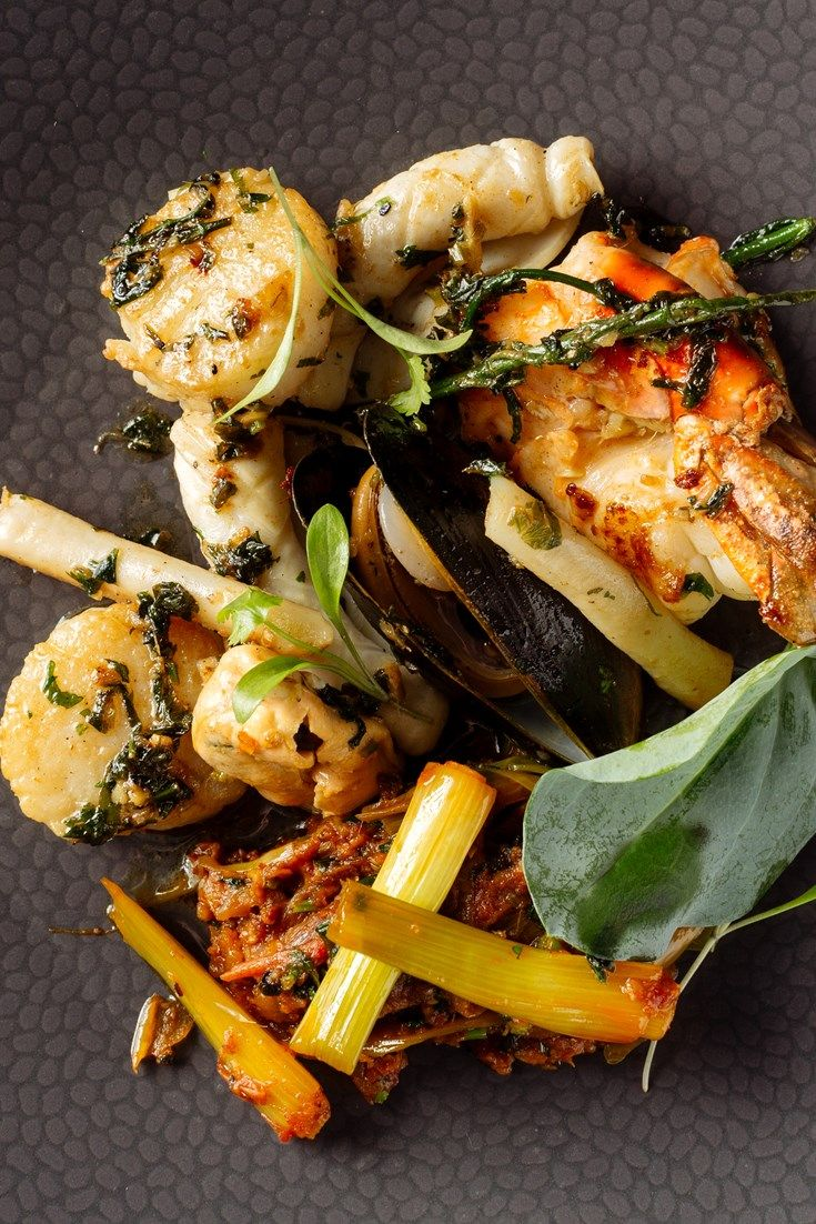 This stunning mixed seafood recipe from Michelin-starred chef Atul Kochhar is bursting with beautiful gifts from the sea.