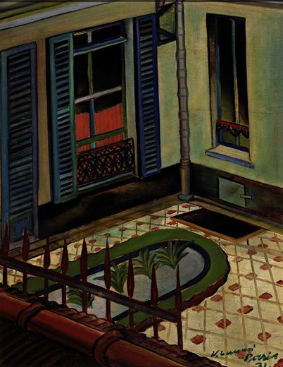VILHO LAMPI Ikkuna Pariisista (Paris Window, 1931)