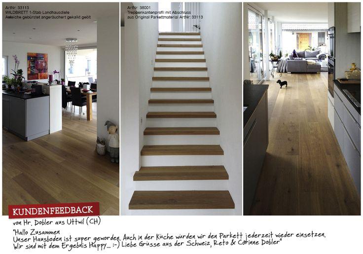 Kundenfeedback parkett-AGENTUR #woodfloor #holz #parkett #holzboden #landhausdiele #feedback #bauen #wohnen