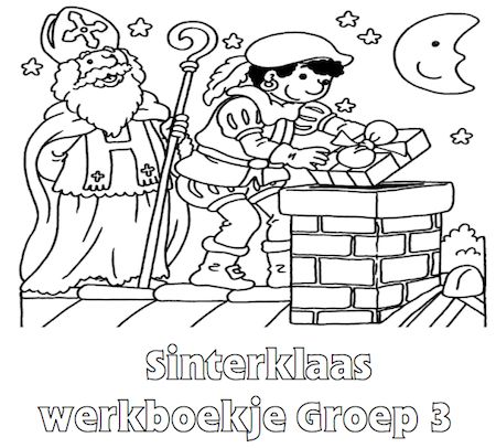 Sinterklaas Werkboekje Groep 3 - Klaarwerk.nl