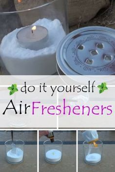 Two versions of DiY air fresheners – inexpensive, easy and environmental-friendly!