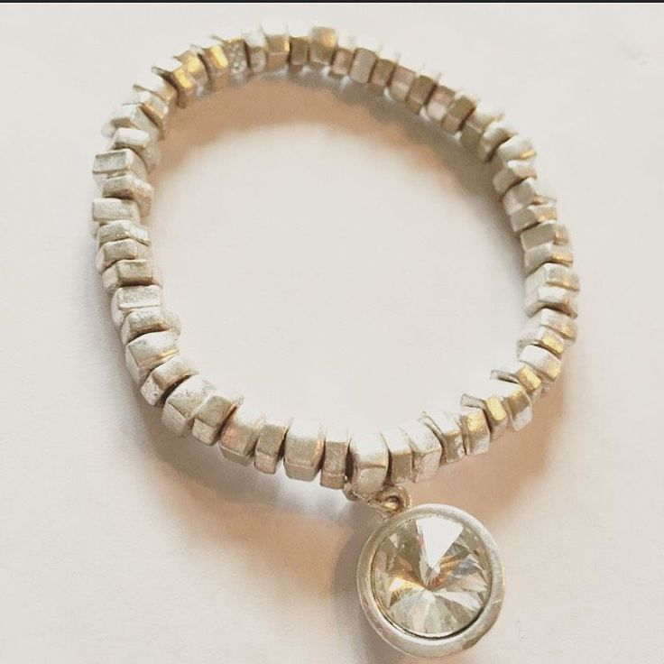 Silver diamond via mBracedesigns. Click on the image to see more!