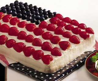 4th of july cloud cake