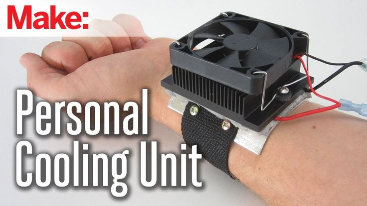 In this project, I show you how to build a thermoelectric cooling unit. This is a miniature refrigerator that you can attach to your wrist. It is able to qui...