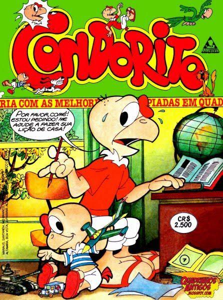 Una de mis ediciones de Brasil #Condorito #brasil