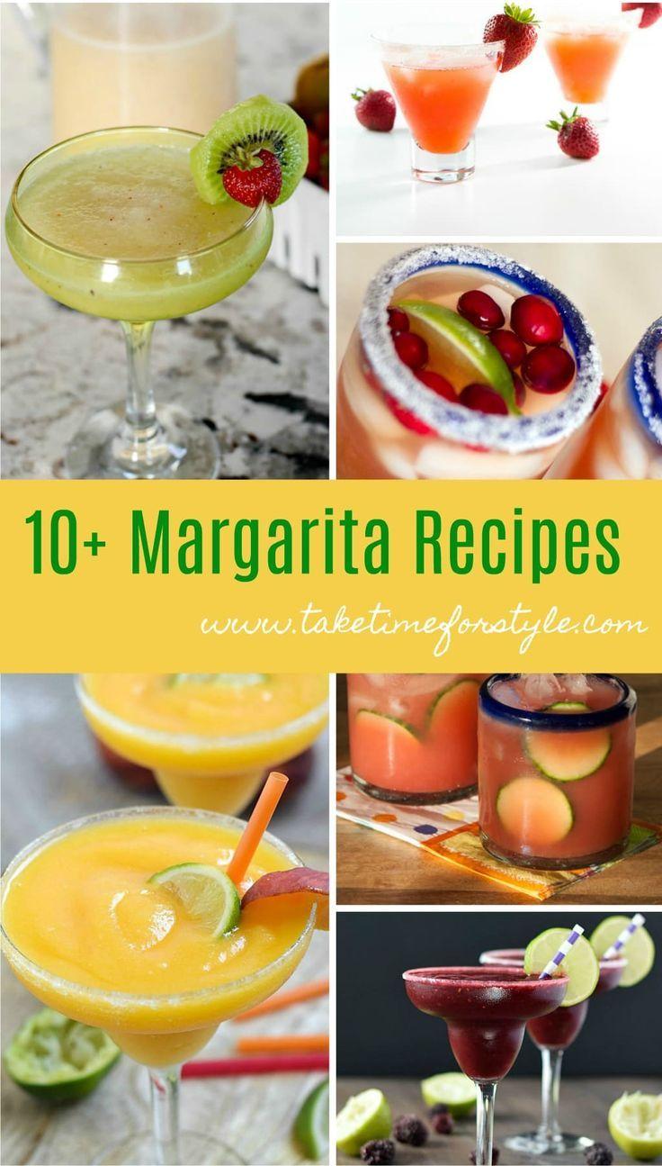 Top 10 Margarita Recipes Take Time For Style Margarita