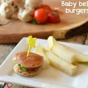 Baby Bella Burgers {Plus a Mama Burger}
