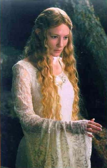 An elf queen known as the Lady of the Woods. Galadriel is the leader of the Sylvan elves. LOTRs