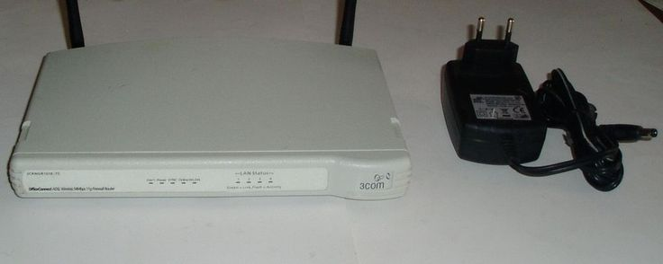 #ebay #Wireless #Officeconnect #Port #11g #54mbps #3COM #3CRWDR101B-75 #ADSL #Firewall #Router