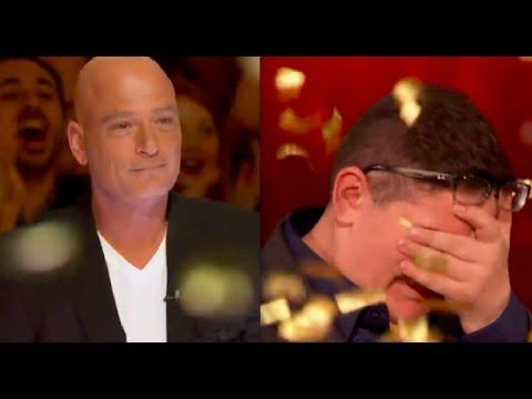 First Time Howie more Emotional in Audition - Golden Buzzer by Howie Mandel - 2017 - YouTube