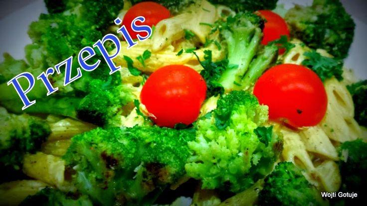 Wojti gotuje czyli 1000 sposobów na szybkie danie : Penne otulone brokułami w sosie śmietanowym