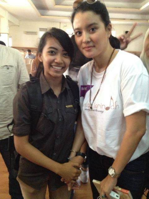 with Marcella Zalianty