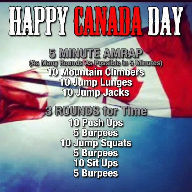 canada day circuit