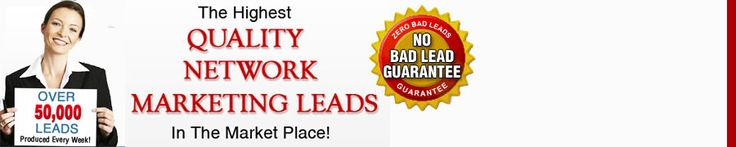 LeadPower.com is your one-stop-shop for the best Home Based Business and MLM leads! We provide our customers with the freshest, up-to-date leads and information in order to help you and your business succeed. All of our leads are highly qualified individuals that are interested in getting involved with a home based business. If you're looking to expand your business, we've got the leads and information you need!