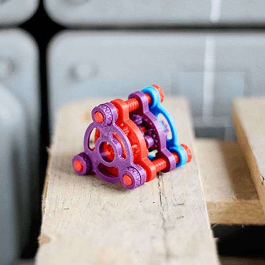 3d print as always - printed on Pirx and it's moving!