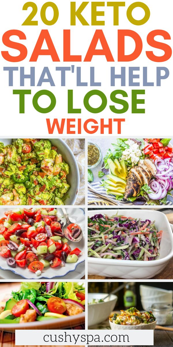 20 Keto Salad That'll Help to Lose Weight