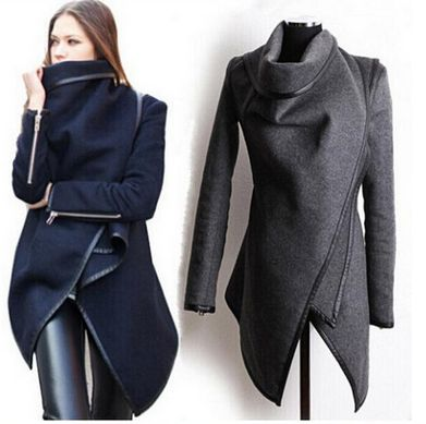 Gender: Women Outerwear Type: Wool & Blends Clothing Length: Long Closure Type: Belt Fabric Type: Broadcloth Collar: Turn-down Collar Sleeve Length: Full Decoration: Adjustable Waist Material: Cashmer