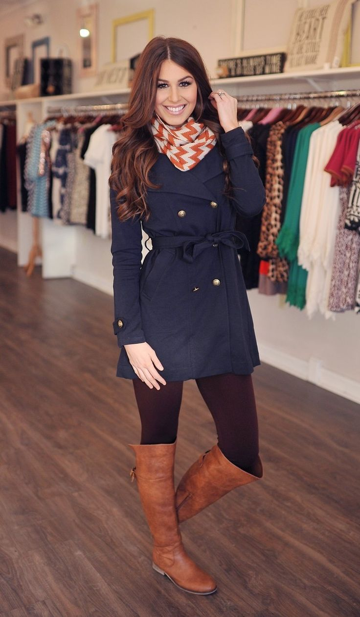 Dottie Couture Boutique - Navy Trench, $64.00 (http://www.dottiecouture.com/navy-trench/)