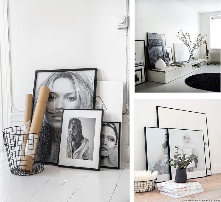M s de 1000 ideas sobre marcos de cuadros negros en for Laminas cuadros estilo nordico