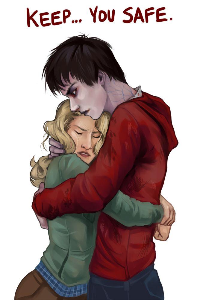"""Keep you safe."" R and Julie"