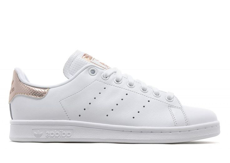 adidas Originals Stan Smith Women\u0027s - White/Rose Gold - Womens