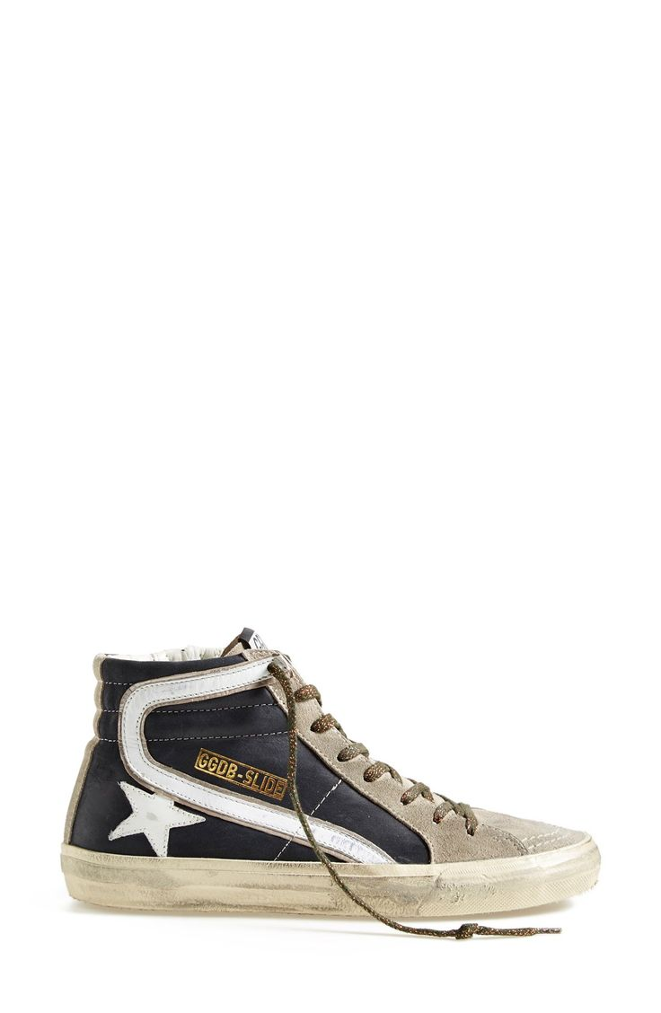 Golden Goose 'Slide' High Top Sneaker (Women)