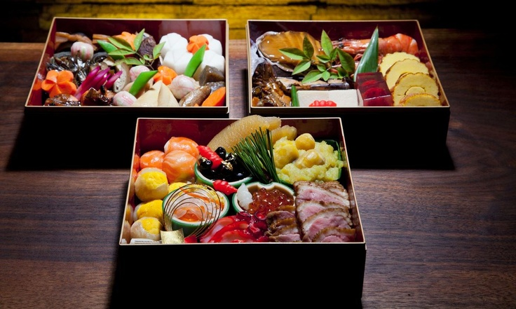Japanese New Years Osechi Box