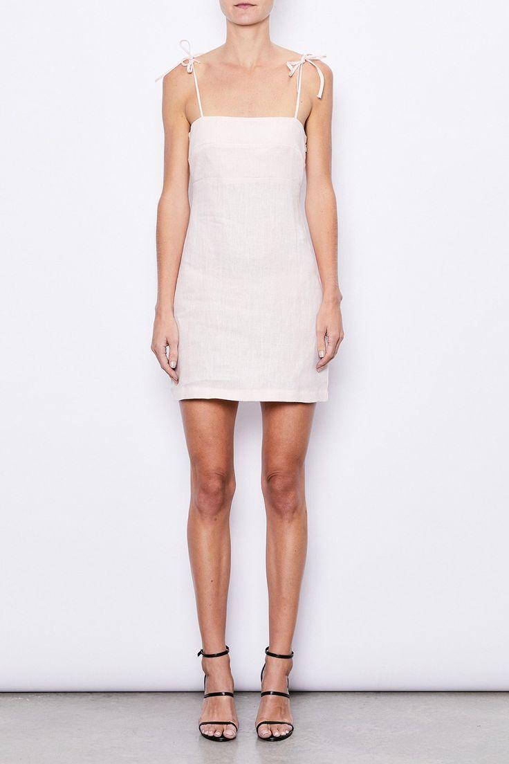 MLM Label - Mlm - Amber Tie Mini Dress
