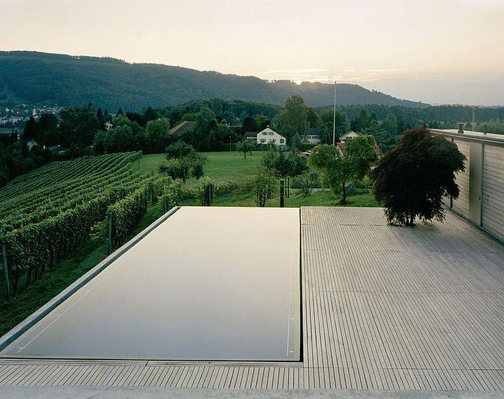 modernist pool design
