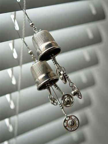 Tailor's Dream Earrings | Flickr - Photo Sharing!