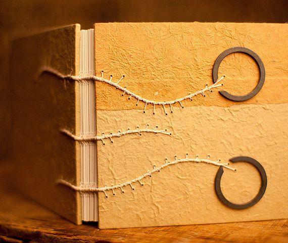 caterpillar stitch | caterpillar stitch by roughdrAftbooks - love the balance of the rings ...