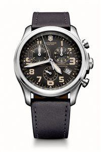 Pánske Hodinky Infantry Vintage Chrono 241578 Swiss-made quartzový strojček ETA 251.272, chronograf s presnosťou merania na 1/10 sekundy, telemetrická stupnica, priemer: ø 44 mm