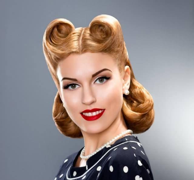 peiando pin up vintage - Peinados Pin Up