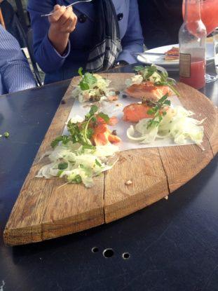 Amisfield Winery 'Trust the Chef' degustation lunch menu #nzwine #foodporn