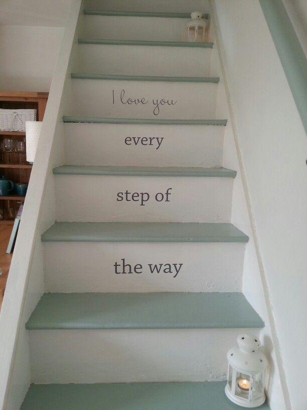 #paintedstaircase #farrowandball