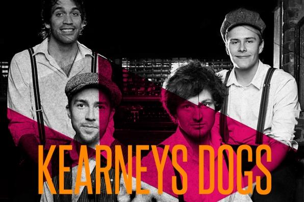 Kerneys Dogs skal spillle inn i baren på Total under Slottsfjell