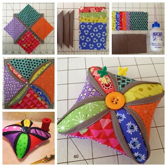 """<input class=""""jpibfi"""" type=""""hidden"""" >This is An incredibly easy and beautiful pincushion. Makes a fast gift for the sewer in your life or for yourself since one can never have too many pincushions. If you thought cathedral windows were hard, I can promise that your mind will be changed after making this simple cushion.I just had to have a…"""