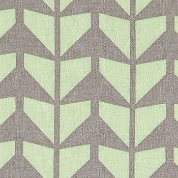 Bomuld+mint+m+grå+pilemønster