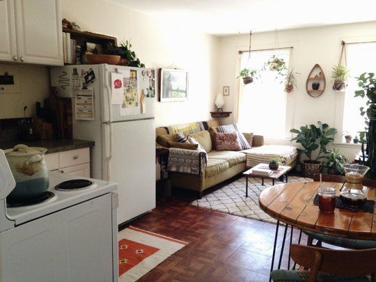 Jessica's Thrifted Coziness  Small Cool Contest | Apartment Therapy